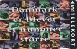 Denmark, KP 054, Tele Danmark, Telephones, Mint 2 Scans - Denmark