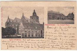 Poperinge, Poperinghe, Eglise St Bertin, La Grand Place (pk16768)