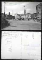 ODERZO - TREVISO - ANNI 60 - PIAZZA DEL POPOLO - Treviso