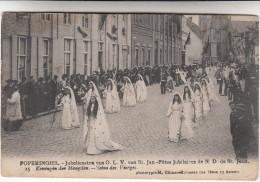Poperinge, Poperinghe, Jubelfeesten van O.L.V van Sint Jan, Koningin der maagden (pk16786)