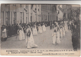Poperinge, Poperinghe, Jubelfeesten Van O.L.V Van Sint Jan, Koningin Der Maagden (pk16786) - Poperinge