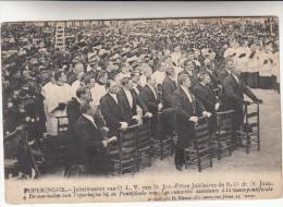 Poperinge, Poperinghe, Jubelfeesten van O.L.V van Sint Jan, de Overheden van popringhe bij de pontificale mis  (pk16789)