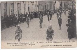 Poperinge, Poperinghe, Jubelfeesten van O.L.V van Sint Jan, de schuttersgilden (pk16790)