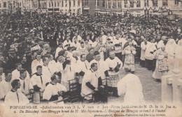 Poperinge, Poperinghe, Jubelfeesten van O.L.V van Sint Jan, de bisschop van Brugge komt de H mis bijwonen  (pk16791)
