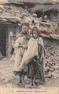 ALGERIE - Fillettes Kabyles - Dos Vierge - 2 Scans - TTBE - Scènes & Types