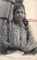 ALGERIE - La Belle Ouridah - Ouridah Pensive - Lot De 2 - 4 Scans - Scenes