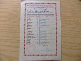 CALIFICACION ESCOLAR DE LUIS BARRERA PEREZ EN EL COLEGIO PEDAGOGIUM SAN FERNANDO BARCELONA CURSO 1960 /1961 - Diplomas Y Calificaciones Escolares