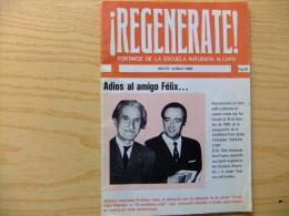 REVISTA NATURISTA DE LOS AÑOS 80s REGENERATE - PROF. N. CAPO - Revistas & Periódicos