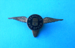 HEPOLITE FOR SPEED - Pistons For Vehicles ( Old Buttonhole Pin ) Badge Car Automobile Auto Autos Anstecknadel Distintivo - Badges