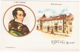 Germany, Carl Maria Von Weber, German Composer, Conductor, Pianist, Guitarist Music - Musik Und Musikanten