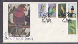 Ciskei, 1993, Small Cage Birds, FDC - Ciskei
