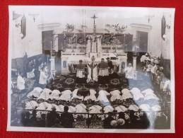 MONTPELLIER 1943 ORDINATION DES PRETRES DEPORTATION MASSIVE PHOTO BENABEN 24 X 18 - Lugares