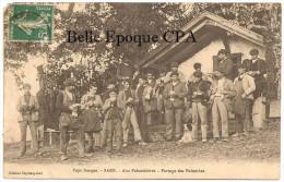 64 - Pays Basque - SARE - Aux Palombières - Partage Des Palombes ++++ Édit. Doyharçabal ++++ Vers Toulon, 1912 ++++ TOP - Sare