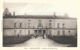 Montagnat (Ain) - Château De Montplaisant - Edition Collet - Carte Non Circulée - Other Municipalities