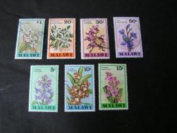 == Malawi  Lot 1970 Orchids - Malawi (1964-...)