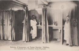 CPA ITALIE ITALIA SALSOMAGGIORE Sistema D´Inalazione Col Termo Variator Bulling 1908 - Parma