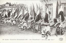 Lyon - Exposition Internationale 1914 - Les Pouss-pouss - Carte B.F. N°501 Non Circulée - Other