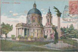 CPA ITALIE ITALIA SUPERGA La Basilica Carte Colorisée 1907 - Unclassified