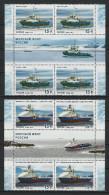 2014 2 Quartblock+2 Labels Russia Russland Rusland Russie Rusia Maritime Fleet. Arctic Ships Mi  2076-2077 MNH ** - Navi Polari E Rompighiaccio