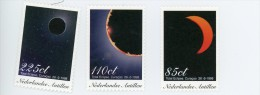 Antilles Neerlandaises 1998-Eclipse Solaire-YT 1116/8***MNH