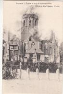 Leysele, Leisele L'Eglise Le Jour De La Destruction (pk16842) - Alveringem