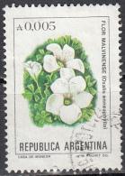 Argentina, 1983 - 5p Oxalis Enneaphylla - Nr.1438 Usato° - Argentina
