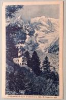 Courmayeur N.D. De Guerison E Monte Bianco Del 1935 Viaggiata Ottimo Stato - Italia
