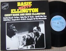 BASIE MEETS ELLINGTON Count Basie And DUKE ELLINGTON LP Battle Royal EX EX - Blues