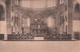 Eglise De Warneton, Vue Du Choeur De L'Eglise Avec Banc De Communion (pk16856) - Komen-Waasten