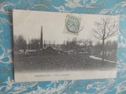 Cpa BERTHECOURT - Usine De Longueil - - Francia