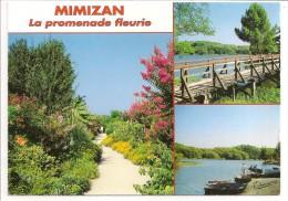 40 - MIMIZAN - La Promenade Fleurie - Multivues - Ed. Thouand N° 40326 - 1999 - Mimizan