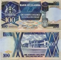 UGANDA       100 Shilingi       P-31b       1988       UNC - Uganda