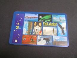 ALASKA Visit.Alaska.; - Phonecards