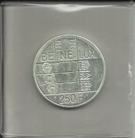 250 Francs Cinquantenaire Du Benelux 1994 Dans Sa Capsule - 07. 250 Francs