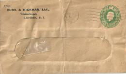 "GS Brief  ""Buck & Hickman Ltd, London""              1925 - Grossbritannien"