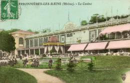 CPA - CHARBONNIERES-les-BAINS (69) Aspect Du Casino En 1912 - Charbonniere Les Bains