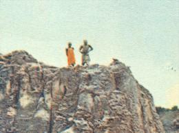 Magoje Reste Eines Tonschieferhügels Personen 17.4.1933 - Nigeria