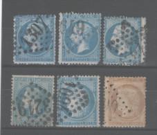 FRANCE: Lot De Timbres (Cérès & Napoléon ) - 1849-1850 Ceres