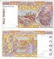 TOGO  1'000 Francs CFA    P811TL  Dated 2002   UNC - Togo