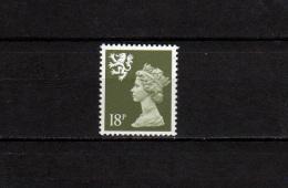 UK - Scotland 1987 Definitives QEII 18 P Stamp MNH - Regional Issues