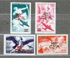 Réunion - Poste Aérienne N° 45 à 48** 4 Valeurs Superbes - Reunion Island (1852-1975)
