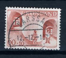 1968 - GROENLANDIA - GREENLAND - GRONLAND - Catg Mi. 70 - Used - (T/AE27022015....) - Gebraucht