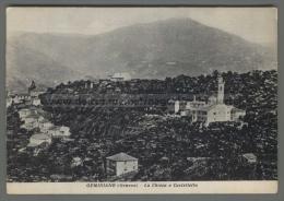 T8427 GEMINIANO FRAZIONE DI GENOVA LA CHIESA E CASTELLETTO (lol) - Genova (Genoa)