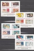 Deutschland Germany,15 Blocks,proofs,probedruck,reprints,sports,olympics,MNH/Postfrisch,L1569us - Colecciones