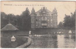 Willebroek, Willebroeck, Vue Derrière Le Château De Mme Vve De Naeyer (pk16887) - Willebroek