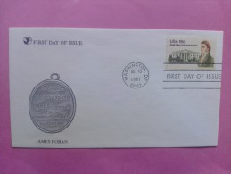 1981 Joint USA / Ireland James Hoban Death 150th Anniv. Readers Digest FDC With Scott#1935 - Emissions Communes