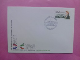 1981 Joint USA / Ireland James Hoban Death 150th Anniv. Irish Official FDC - Emissions Communes