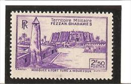 TIMBRES DE 1946  Dentelés  N° 33 ** - Fezzan (1943-1951)