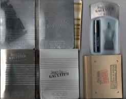 Jean Paul Gaultier - 6 échantillons Sur Carte Différents - Campioncini Di Profumo (testers)