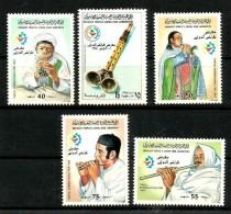 1983 LIBIA Musica Music Serie Cpl  Nuova ** MNH - Musica